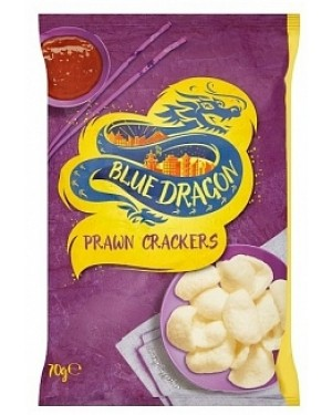 Blue Dragon Prawn Crackers (6 x 70g)