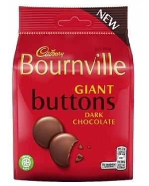 Cadbury Bournville Dark Buttons (10 x 95g)