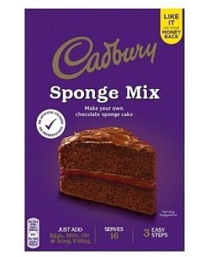 Cadbury Chocolate Sponge Mix (5 x 400g)
