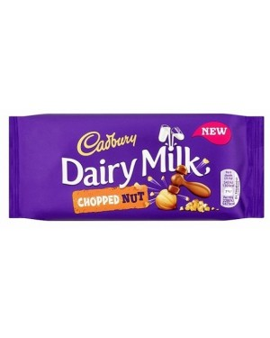 Cadbury Dairy Milk Chopped Nut (22 x 95g)