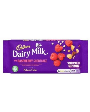 Cadbury Dairy Milk Invent Raspberry Shortcake (19 x 110g)