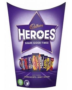 Cadbury Heroes Small Carton (9 x 185g)