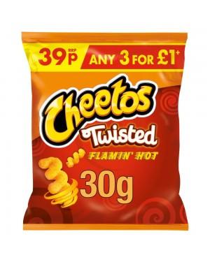 Cheetos Twisted Flamin'hot Snacks 30g