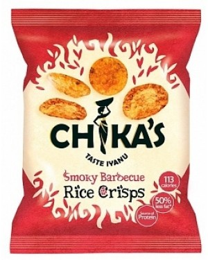 Chikas Smokey Bbq Rice Crisps (16 x 25g)