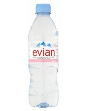 Evian Mineral Water (24 x 500ml)