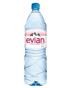 Evian Mineral Water (8 x 1.00l)