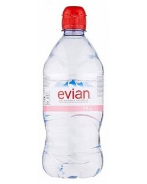 Evian Mineral Water S/cap (12 x 750ml)