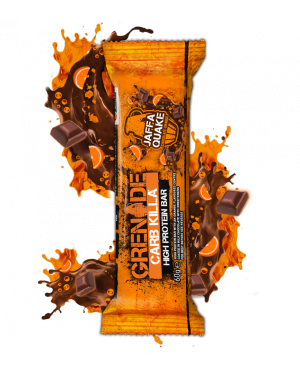 Grenade Energy Bar Choccolate And Orange Barretta Energetica Al Cioccolato E Arancio