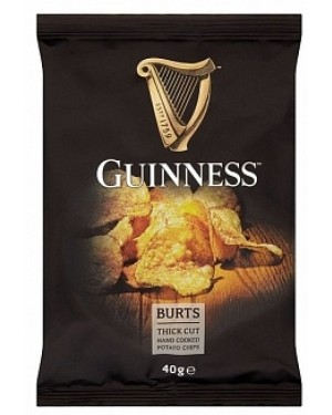 Guinness Hand Cooked Potato Chips (20 x 40g)