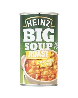 Heinz Big Soup Roast Chicken Zuppa Di Pollo Con Erbe Aromatiche 500G