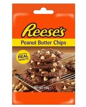 Hersheys Reeces Peanut Butter Chips (12 x 100g)
