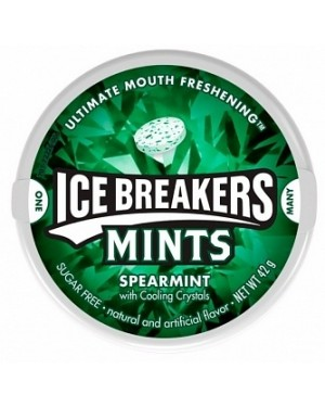 Ice Breakers Spearmint Gum (8 x 42g)