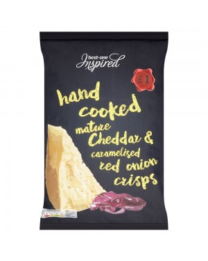 Inspired Hand Cooked Cheddar & Onion