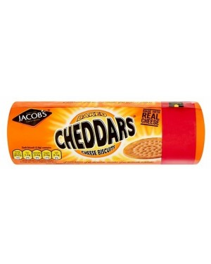 Jacobs Cheddars PM£1.39 (12 x 150g)