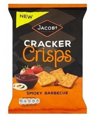 Jacobs Cracker Crisps Smokey Bbq (10 x 150g)