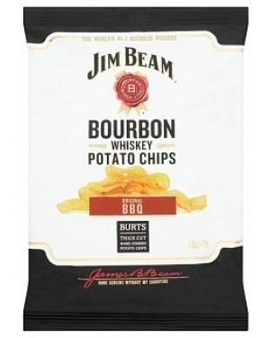 Jim Beam Hand Fried Potato Chips (20 x 40g)