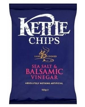 Kettle Chips Sea Salt & Balsamic Vinegar (12 x 150g)