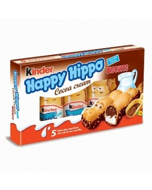 Kinder Happy Hippo Cocoa Cream 5 Pack (Case of 10)