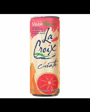 La Croix Melon Pomelo Acqua Frizzante Aomatizzata Al Melone Cantalupo E Pompelmo Rosa 355Ml