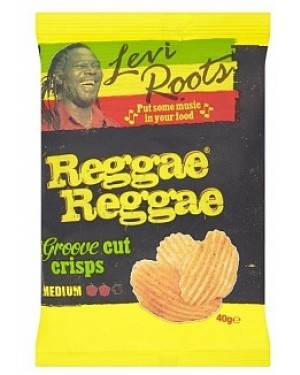 Levi Roots Hand Fried Potato Chips (20 x 40g)