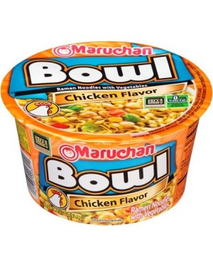 Maruchan Bowl Chicken Noodles Giapponesi Al Pollo