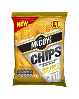 Mccoys curry patatine al curry 70g