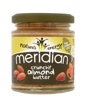 Meridian Almond Butter Crunchy (6 x 170g)