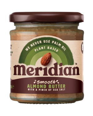 Meridian Smooth Almond Butter & Sea Salt (6 x 170g)