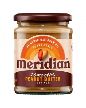 Meridian Smooth Peanut Butter (6 x 280g)