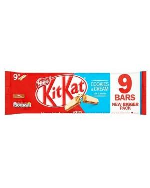 Nestle Kitkat 2f Cookies & Cream 9pk (26 x 186g)