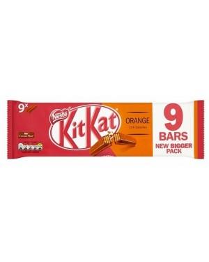 Nestle Kitkat 2f Orange 9pk (26 x 186g)