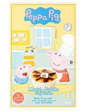 Peppapig Muddy Puddle Cupcake Mix (6 x 195g)
