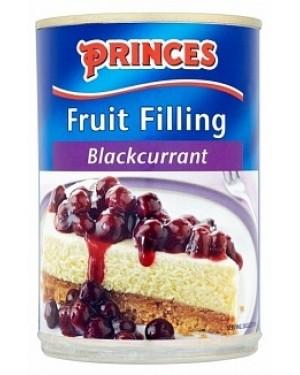 Princes Blackcurrant Fruit Filling (6 x 410g)