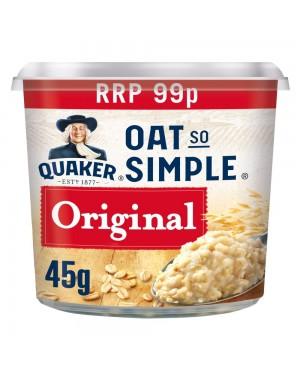 Quaker fiocchi d'avena monodose 45g