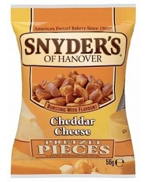 Snyder's Pretzel Pieces Cheddar Cheese (30 x 56g)
