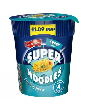 Batchelors Super Noodles Pot Curry (8 x 75g)
