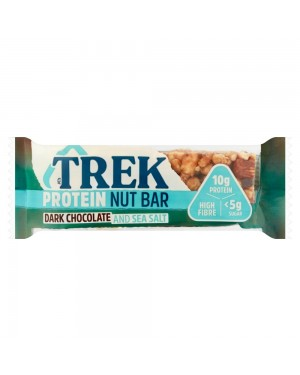 Trek Protein Nut Bar Dark Chocolate & Seasalt