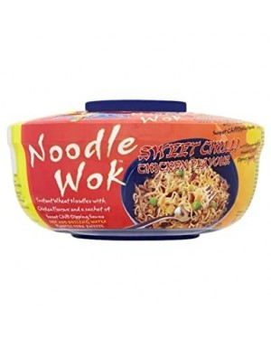 Blue Dragon Noodle Wok Sweet Chilli Chicken (6 x 67g)